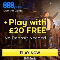 Free poker from 888poker