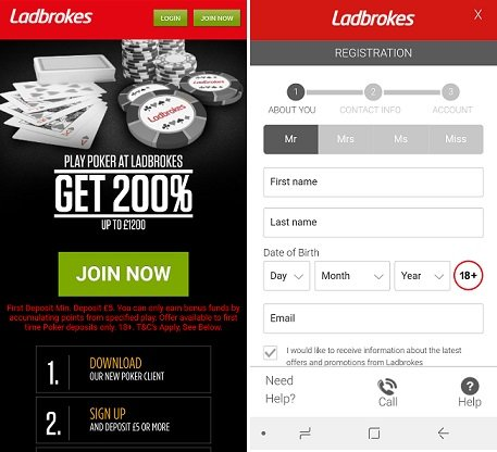 Guide to Ladbrokes poker app