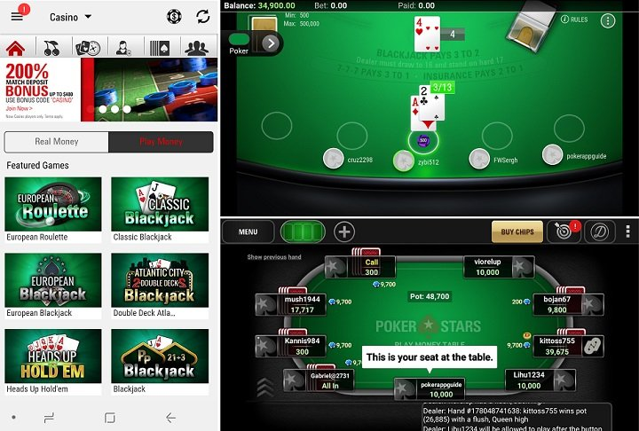 Review of the PokerStars app for Android