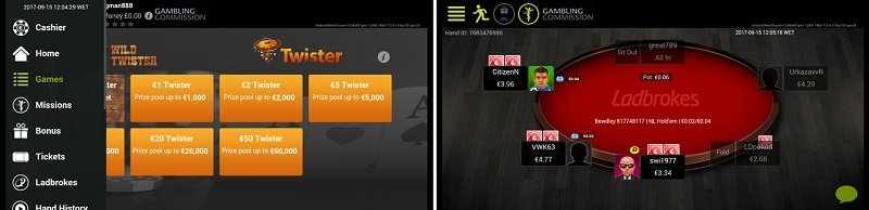 Ladbrokes poker app download for Android