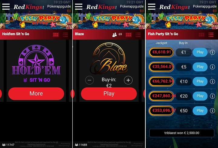 RedKings poker app guide