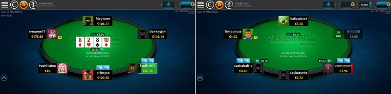William Hill poker app guide