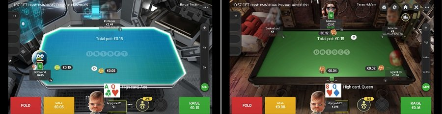 Unibet poker app iOS