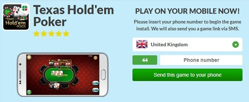 Play mFortune poker on mobile